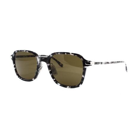 Hugo Boss // Men's 909S Sunglasses // Gray Havana