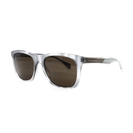 Hugo Boss // Men's 911S Sunglasses // Gray