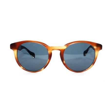 Men's 912S Sunglasses // Horn Crystal + Brown