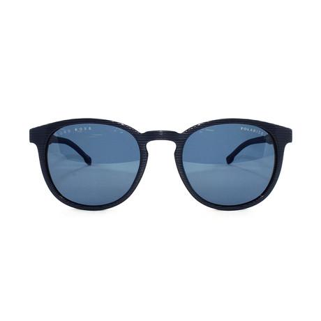 Men's Polarized 922S Sunglasses // Striped Blue