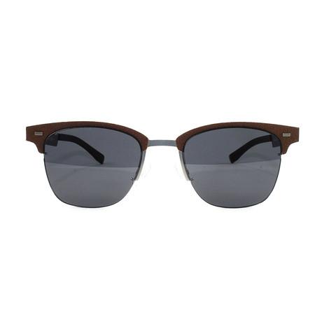 Men's 934S Sunglasses // Brown + Gunmetal