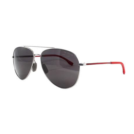Hugo Boss // Men's 938S Polarized Sunglasses // Gray