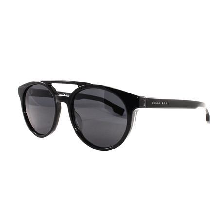 Hugo Boss // Men's 972S Sunglasses // Black