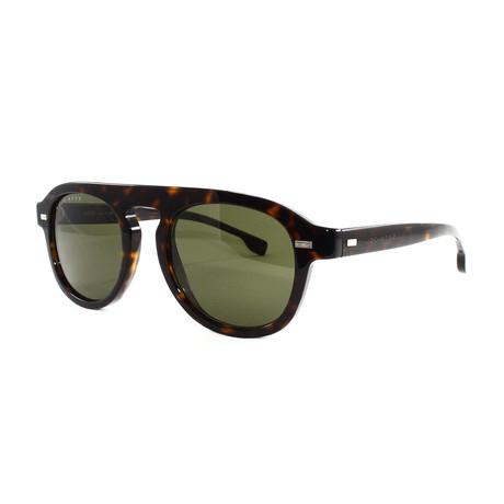 Hugo Boss // Men's 1000S Sunglasses // Dark Havana