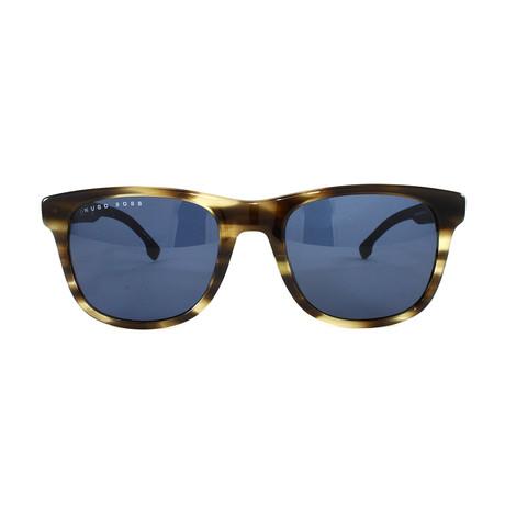 Men's 1039S Sunglasses // Brown Horn