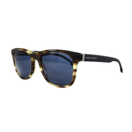 Hugo Boss // Men's 1039S Sunglasses // Brown Horn