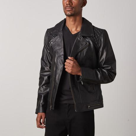 Bonanza Leather Jacket // Black (XS)