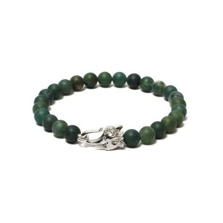 The Elephant Head Beaded Bracelet
