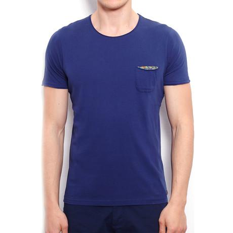 Basic T-Shirt + Pocket // Navy Blue (S)