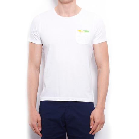 Basic T-Shirt + Pocket // White (S)