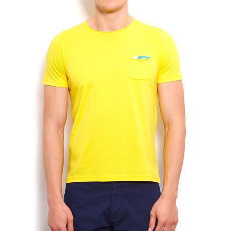 Basic T-Shirt + Pocket // Yellow (S)