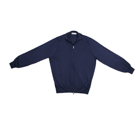 Salvatore Cashmere Sweater // Navy (Euro: 46)