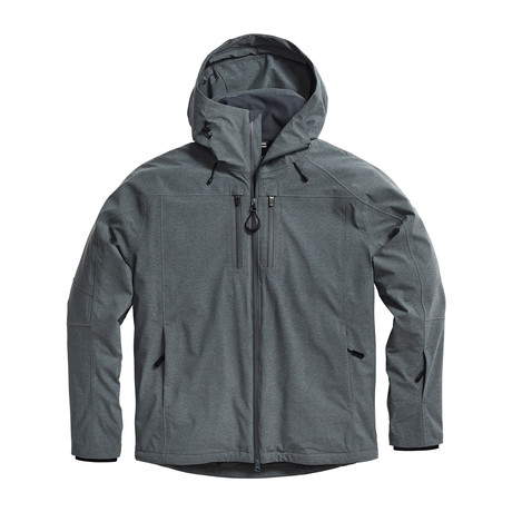 Men's Endeavour Jacket // Mercury Heather (XS)
