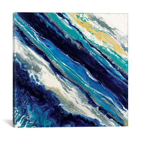 "Blue Waves (18""W x 18""H x 0.75""D)"