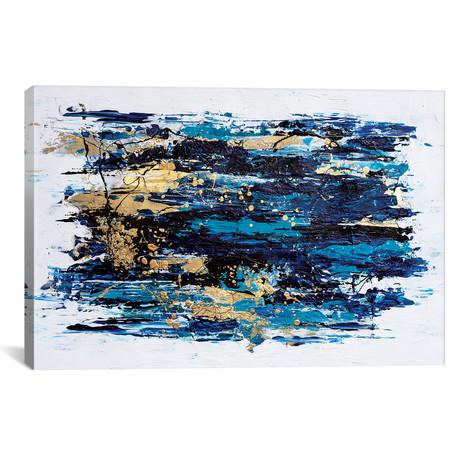 """Blue Tide (26""""W x 18""""H x 0.75""""D)"""