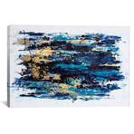 """Blue Tide // Nikki Chauhan (18""""W x 12""""H x 0.75""""D)"""