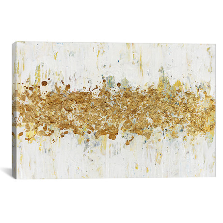 """Speckles of Gold (26""""W x 18""""H x 0.75""""D)"""