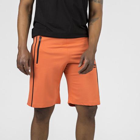 Side Stripe Lounge Short // Orange (S)