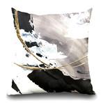 "Gilded Arcs I Throw Pillow (16"" x 16"")"