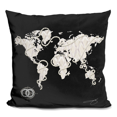 "Coco's World Throw Pillow (16"" x 16"")"