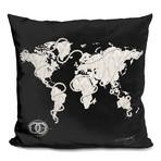 "Coco's World Throw Pillow (16"" x 16"")"
