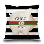 "Designer Fund Throw Pillow (16"" x 16"")"