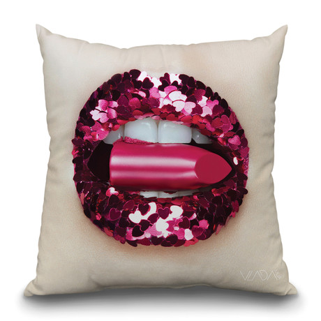 "Empty Calories Throw Pillow (16"" x 16"")"