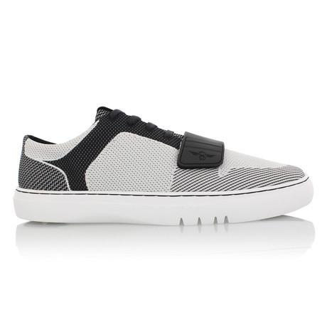 Cesario Lo Woven Sneaker // Gray + Black (US: 7)
