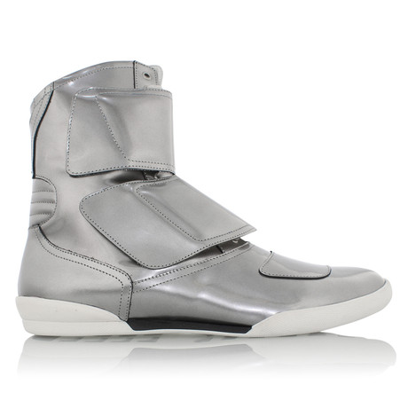 Gizzo High-Top Sneaker Boot // Silver (US: 7)
