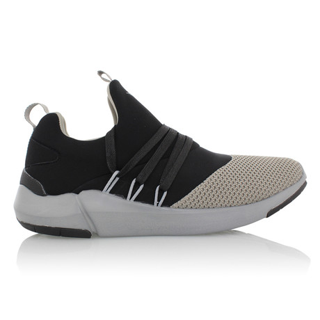 Matera Strappy Sneaker // Black + Gray (US: 7)