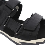 Strollo Sandal // Black + Gray (US: 9)