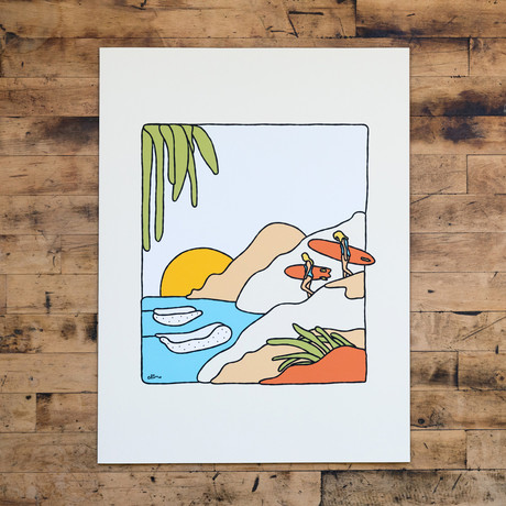 """Flavor Country (8""""W x 10""""H)"""