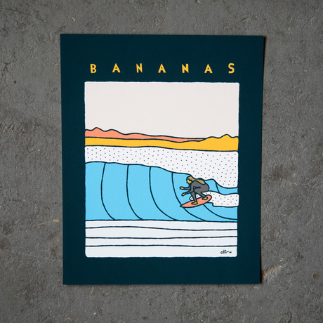 "Bananas (8""W x 10""H)"