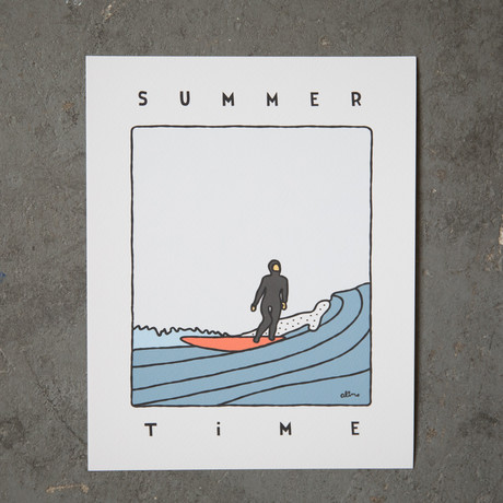 """Summer Time (8""""W x 10""""H)"""