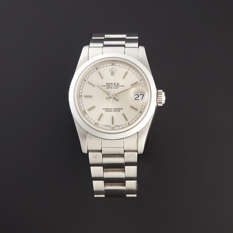 Rolex Midsize Datejust Automatic // 68240 // R Serial // Pre-Owned