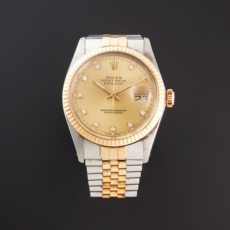 Rolex Datejust Automatic // 16013G // R Serial // Pre-Owned