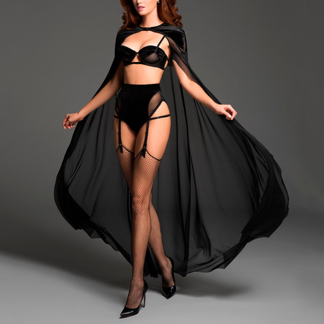 Chloe The Kiss Me Again Sheer Cape