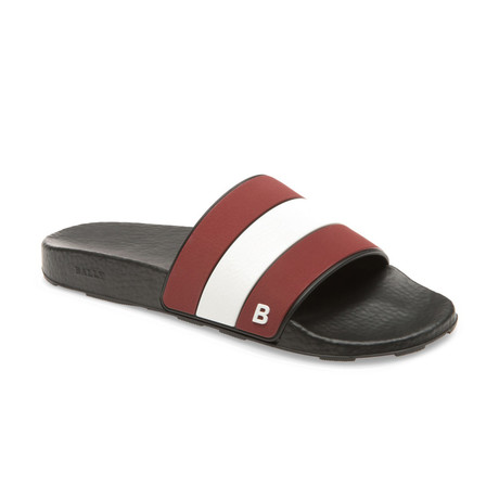 Sleter Slides // Red + White (US: 7)