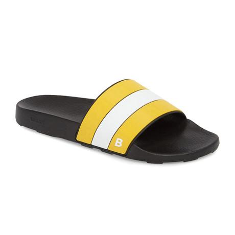 Sleter Slides // Yellow + White (US: 7)