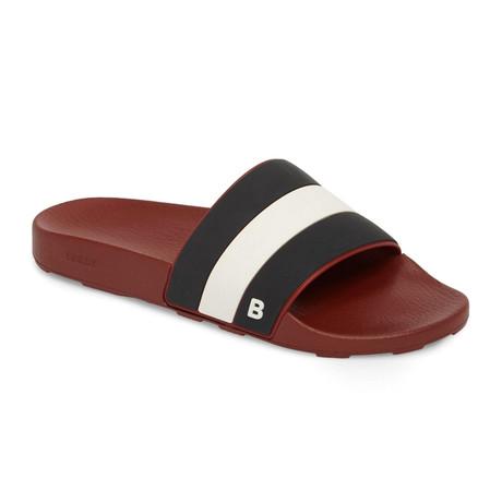 Sleter Slides // Red + Black (US: 7)