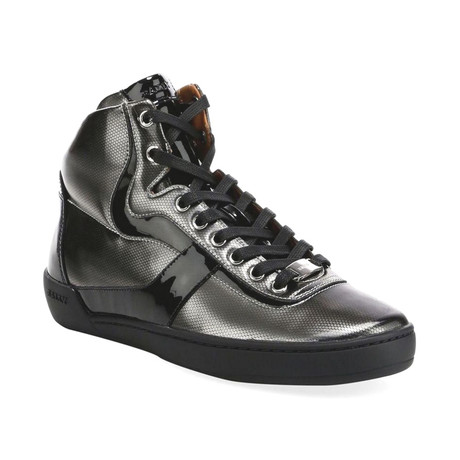 Eroy 02 High Top Sneakers // Silver (US: 7)