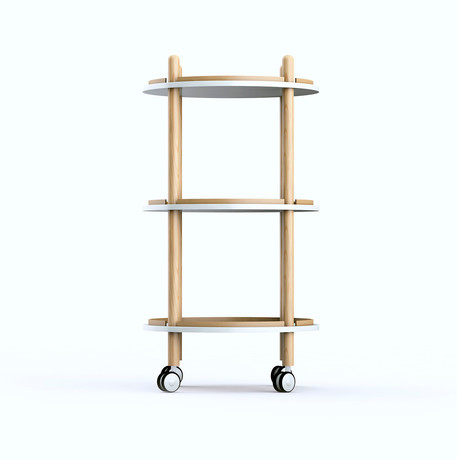 Blythe 3-Tier Bar Cart
