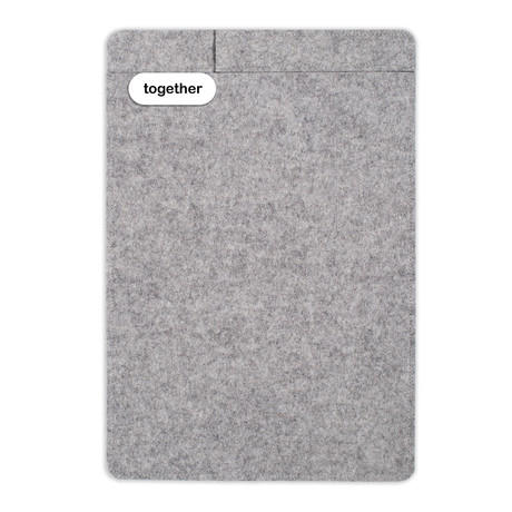 "Sleeve + Pencil // iPad 9.7"" // Light Grey (iPad 9.7"")"
