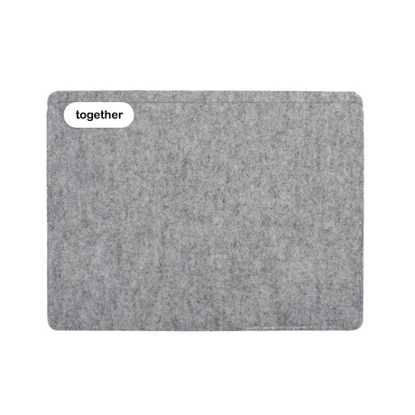 "Sleeve // iPad Pro 12.9"" // 3rd Gen // Light Grey (Short Side Opening)"