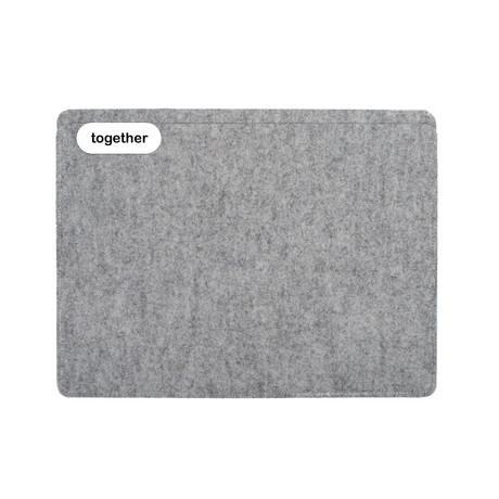 """Sleeve // iPad Pro 12.9"""" // 1st + 2nd Gen // Light Grey (Long Side Opening)"""