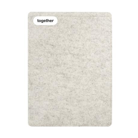 "Sleeve // MacBook Pro 15"" (2012-2016) // Heather (Short Side Opening)"