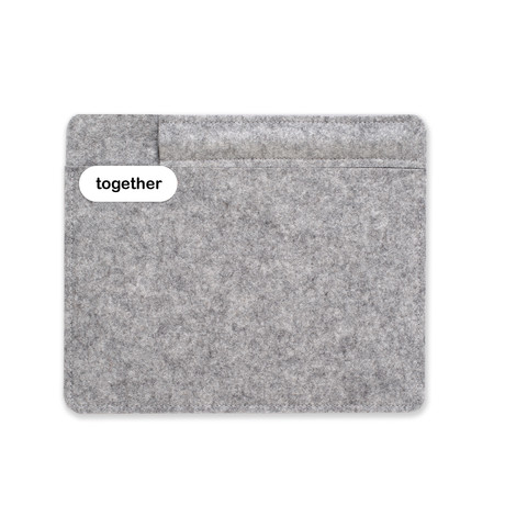 "Sleeve + Pencil // iPad Mini 7.9"" // Light Grey (iPad mini 7.9"")"