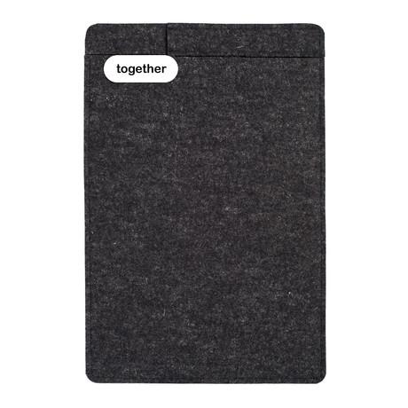 """Sleeve + Pencil // iPad 9.7"""" // Charcoal (iPad 9.7"""")"""