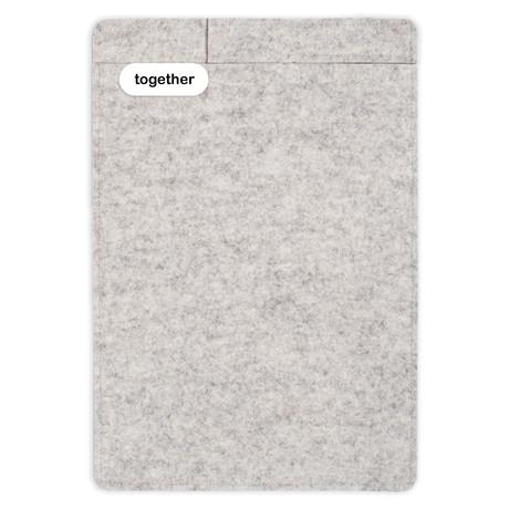 """Sleeve + Pencil // iPad 9.7"""" // Heather (iPad 9.7"""")"""