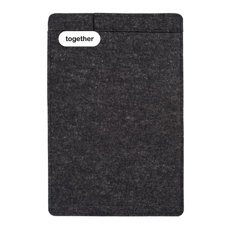 "Sleeve + Pencil // iPad Pro 11"" // Charcoal (3rd Generation)"